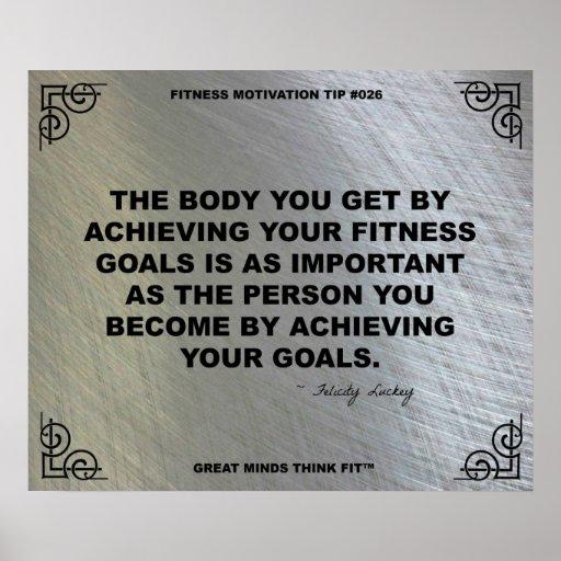 Gym Poster for Fitness Motivation #026