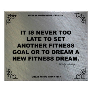 Gym Poster for Fitness Motivation #039