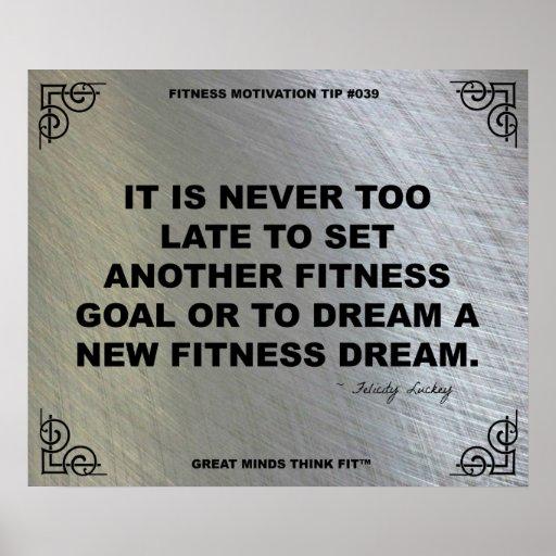 Gym Poster for Fitness Motivation #039