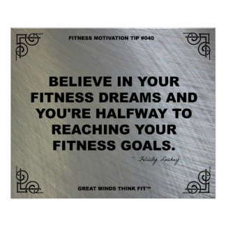 Gym Poster for Fitness Motivation #040