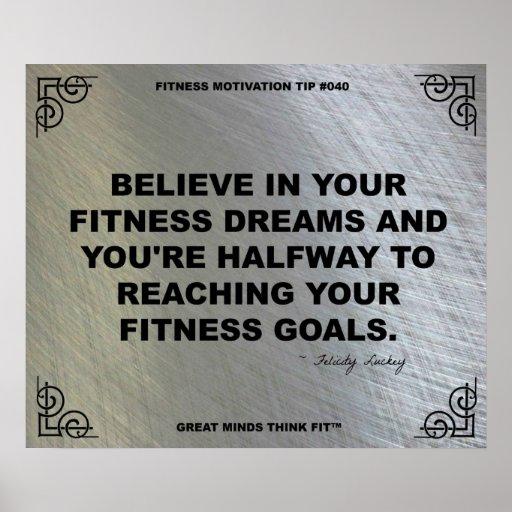 Gym Poster for Fitness Motivation #040