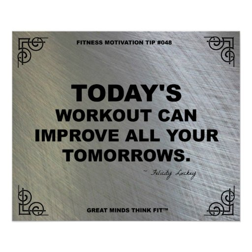 Gym Poster for Fitness Motivation #048