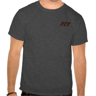 Gym Rat and Couch Potato and Fit Funny and Cool Shirt