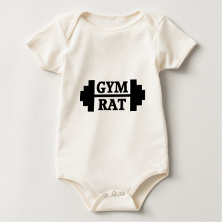 Gym Rat Baby Bodysuit