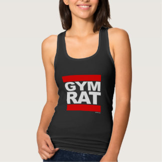 Gym Rat -   Training Fitness -.png Tank Top