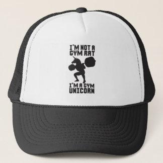 Gym Rat vs Gym Unicorn - Funny Workout Inspiration Trucker Hat