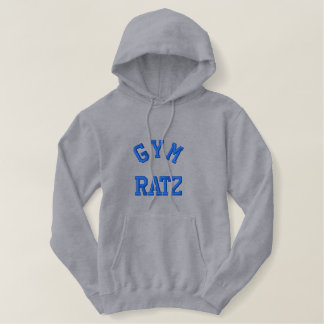 GYM RATZ EMBROIDERED HOODIE