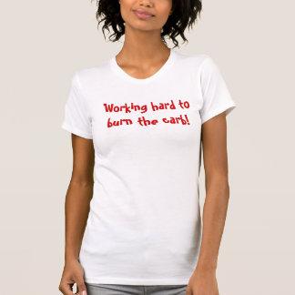 Gym shirt - Burn the carbs!