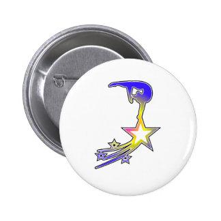 Gym Star 2 Inch Round Button