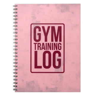 Gym Training Log Notebook