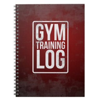 Gym Training Log Notebooks