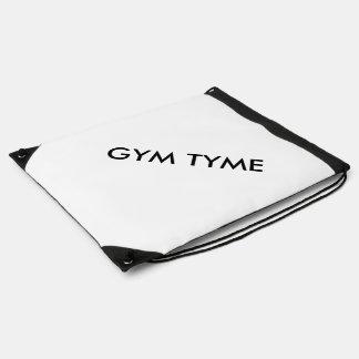 Gym Tyme Drawstring Bag