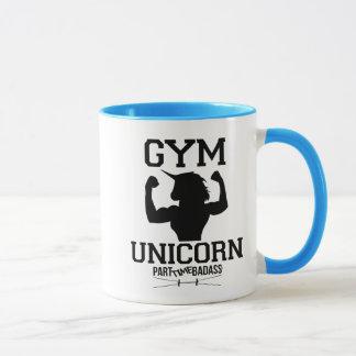 GYM UNICORN COFFEE MUG