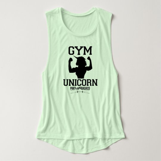 GYM UNICORN- muscle tank