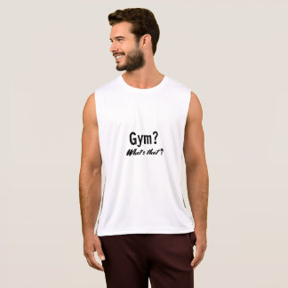 Gym? What's that? - Men's Tank Top