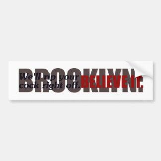 @gymicrae Brooklyn Bumper Sticker