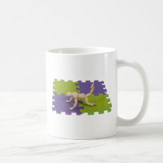 GymMatStretch112809 copy Classic White Coffee Mug