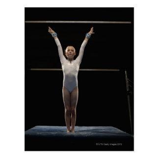 Gymnast 2 postcard