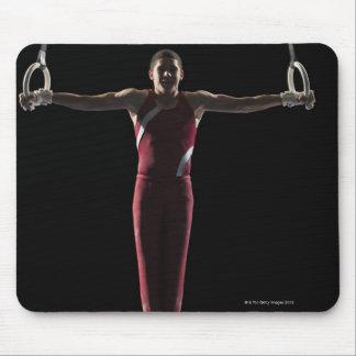 Gymnast 4 mouse pad