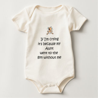 Gymnast Cry Family Baby Bodysuit