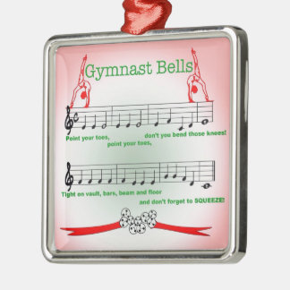 Gymnast Gymnastics Ornament Christmas Song Leotard