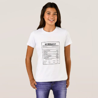 Gymnast Nutrition Facts T-Shirt