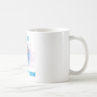 Gymnast Proud Mom Classic White Coffee Mug