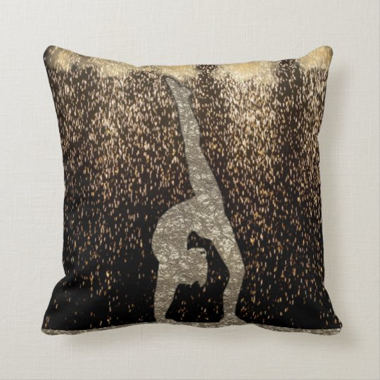Gymnast Sparkle Pillow