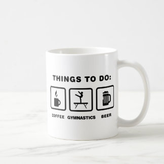 Gymnastic - Balance Beam Coffee Mugs