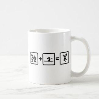 Gymnastic - Floor Exercise Basic White Mug