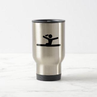 Gymnastic - Floor Exercise Coffee Mugs