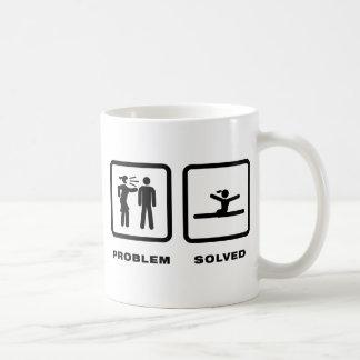 Gymnastic - Floor Exercise Classic White Coffee Mug