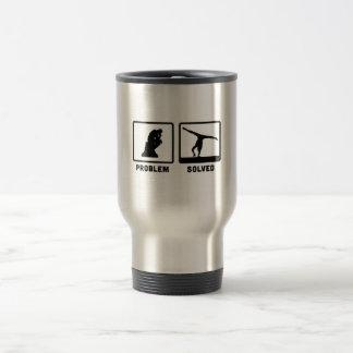 Gymnastic Floor Exercise Stainless Steel Travel Mug