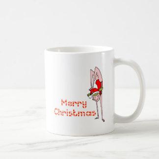 Gymnastic Merry Christmas Coffee Mugs