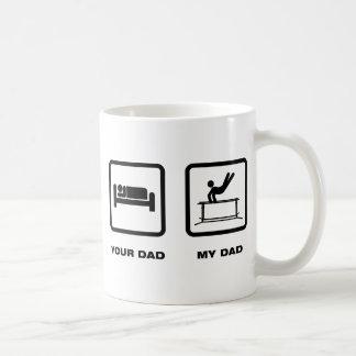 Gymnastic - Parallel Bars Basic White Mug