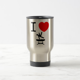 Gymnastic - Pommel Horse Stainless Steel Travel Mug