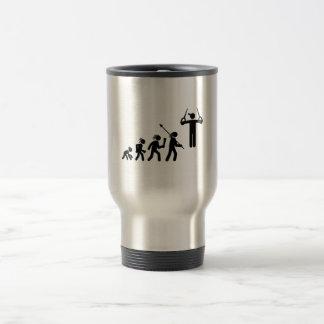 Gymnastic - Still Rings Stainless Steel Travel Mug