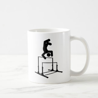 Gymnastic - Uneven Bars Classic White Coffee Mug