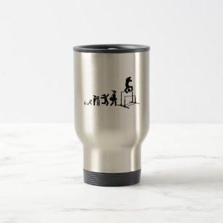 Gymnastic - Uneven Bars Stainless Steel Travel Mug