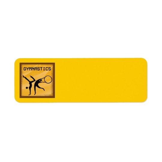 GYMNASTICS 1 Address Labels
