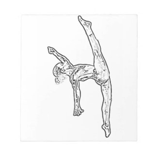 Gymnastics 2 notepad