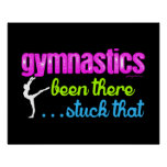 Gymnastics - Been there stuck that.... Poster
