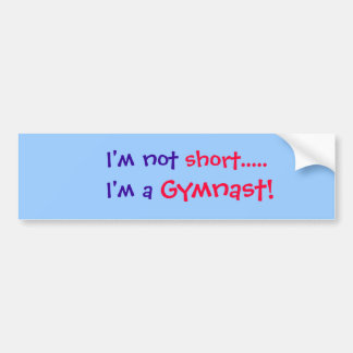 Gymnastics Bumper Sticker