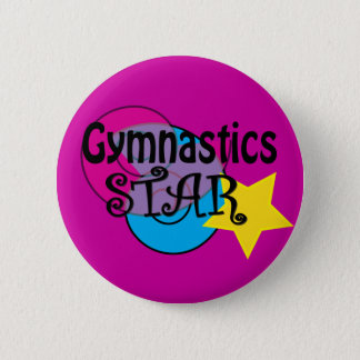 Gymnastics Buttons for Gymnasts