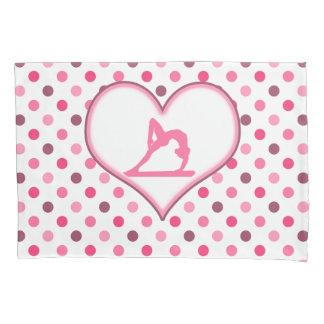 Gymnastics Cherry Polka-Dots Pillowcase
