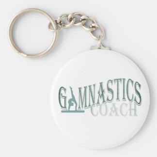 Gymnastics coach  key chain