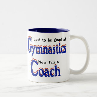 Gymnastics Coach Two-Tone Coffee Mug