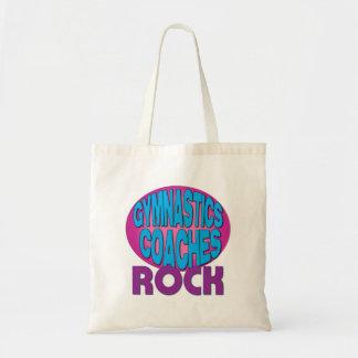Gymnastics Coaches Rock Shirts Tote Bag