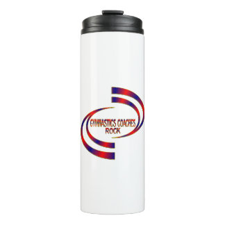 Gymnastics Coaches Rock Thermal Tumbler