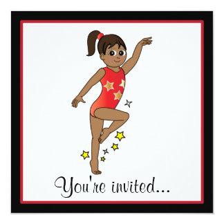 Gymnastics Competition Invitation